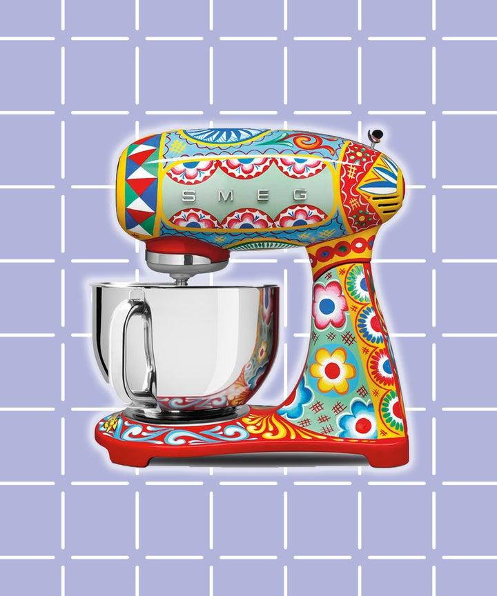 Dolce Gabbana Smeg Kitchen Appliance Collection Picture