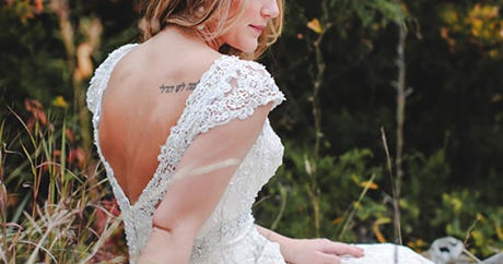 How These Tattooed Brides Showed Off Their Ink