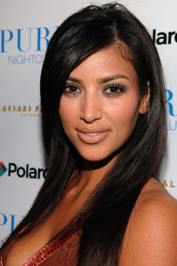Kim Kardashian Best Blonde Hair And Makeup Looks