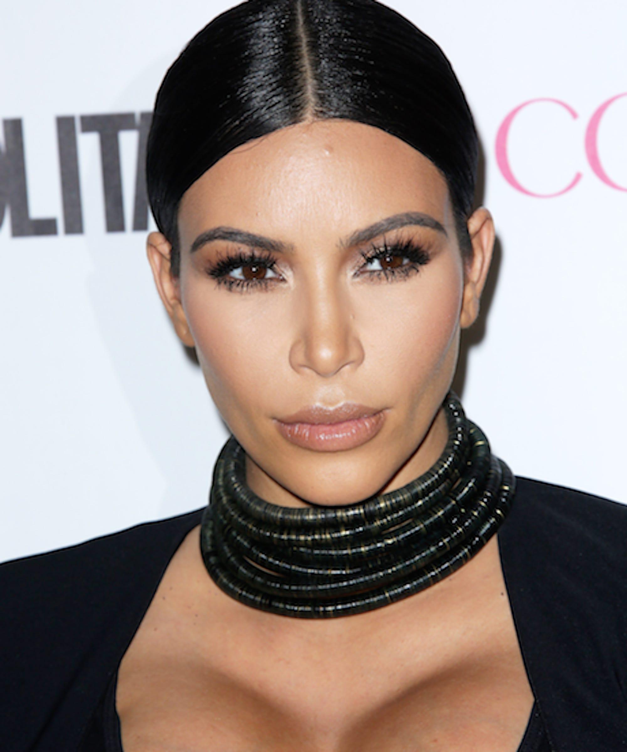 Kim Kardashian eats his placenta from postpartum depression
