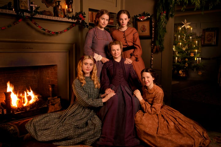 why little women is the only christmas tv you need - Christmas Tv
