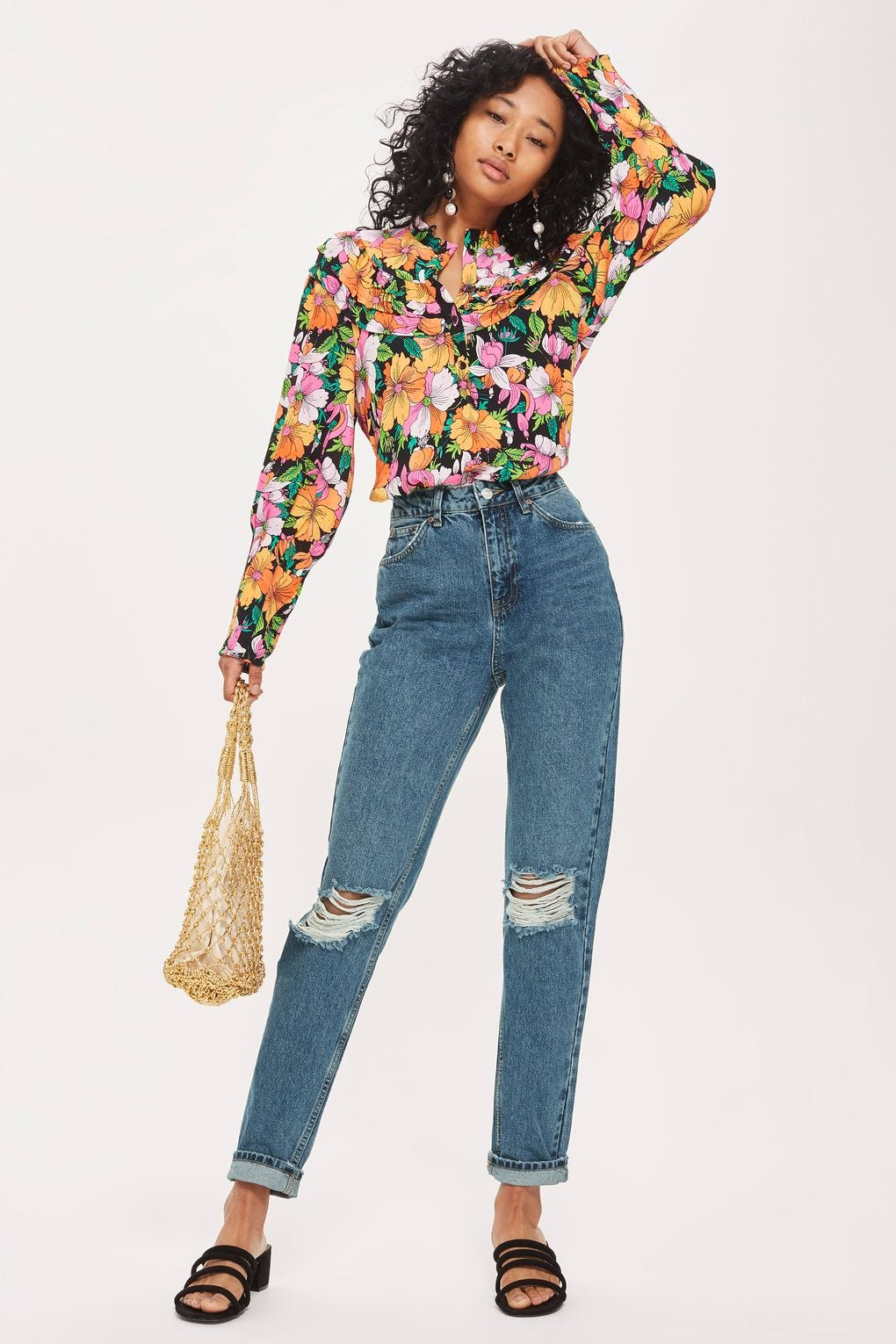 fea3805a Best High Waisted Jeans And Denim Styles For Women