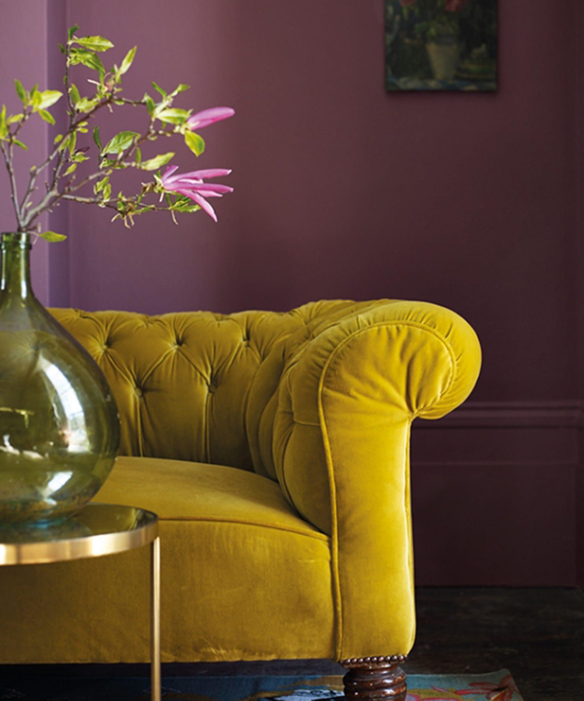 Unlikely Colour Combination - Interior Design