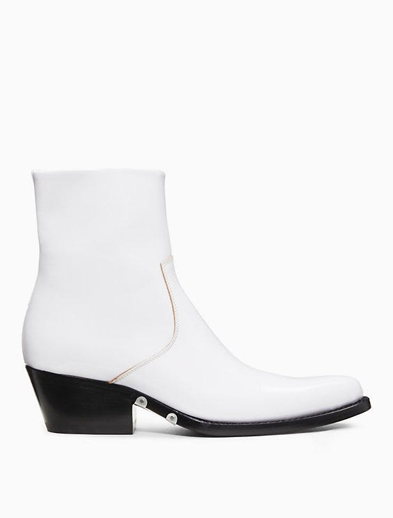 8c517e7a3c31 White Boot Trend Fall 2018 For Women