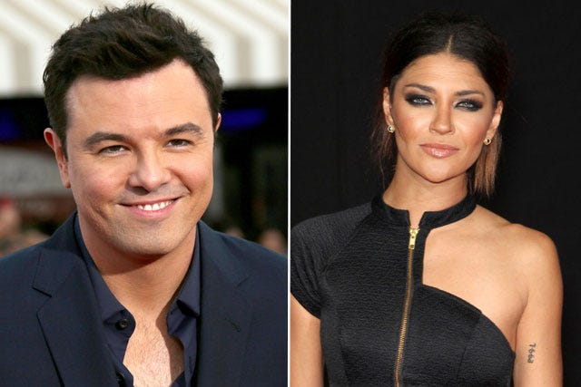 Seth Macfarlane Dating Jessica Szohr Celebrity Couple