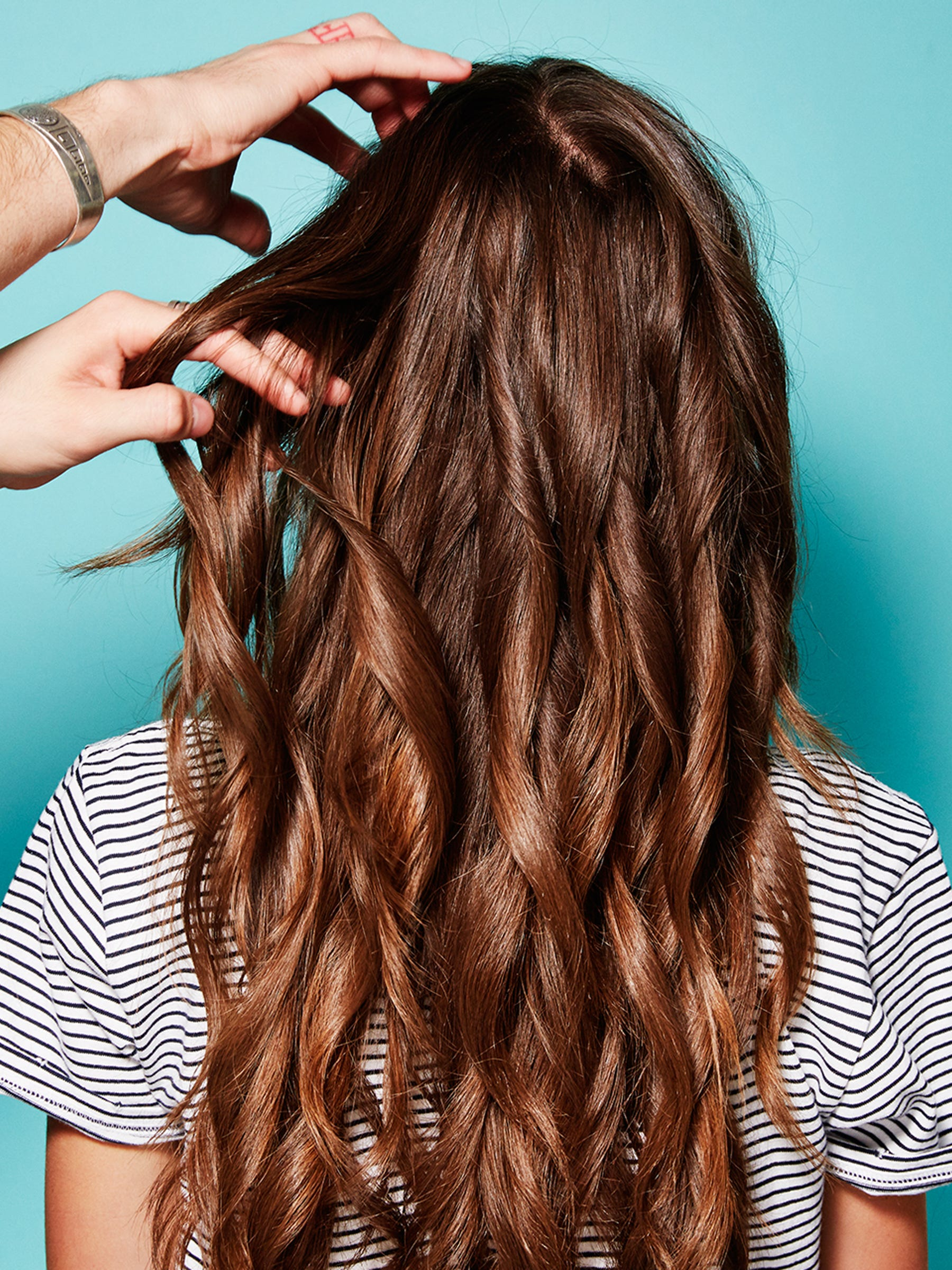 How To Get Better Heathier Hair Dusting Few Split Ends