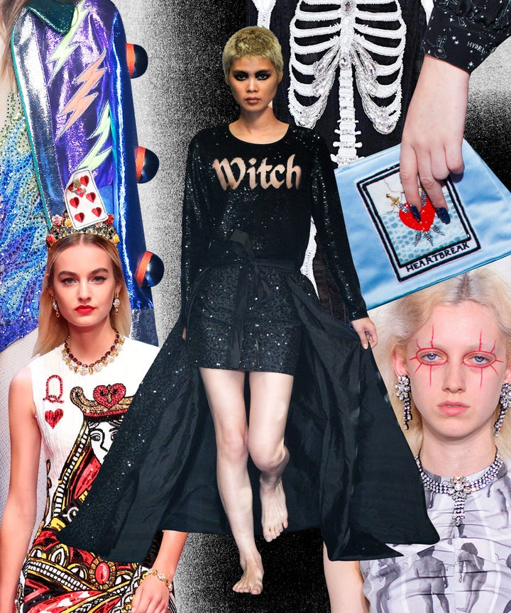 11 haute halloween outfit ideas straight from the catwalks
