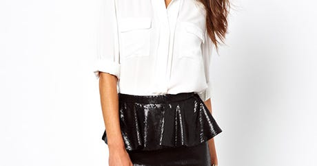Vive The Peplum! 10 Flattering Skirts That Prove The Style Is Alive & Well