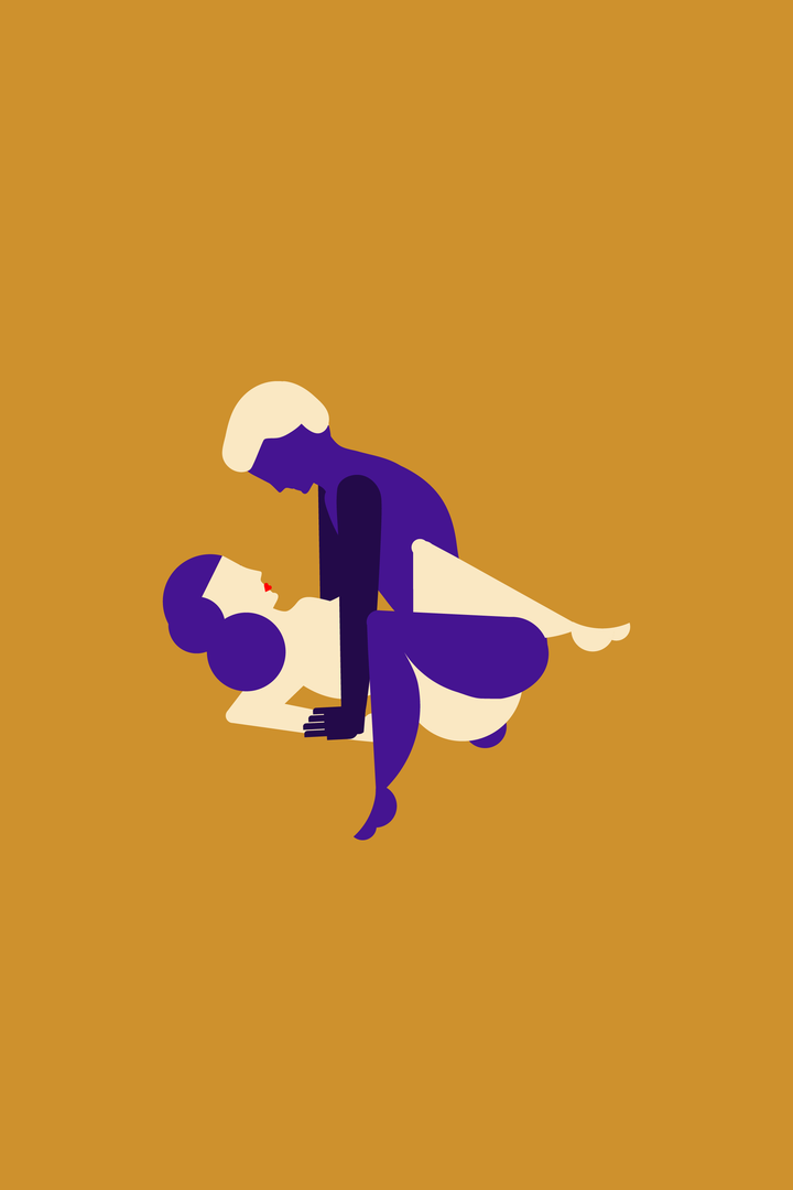 The queen of heaven sex position