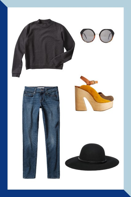 710ddc136eb How To Wear Skinny Jeans - Fall Outfit Looks