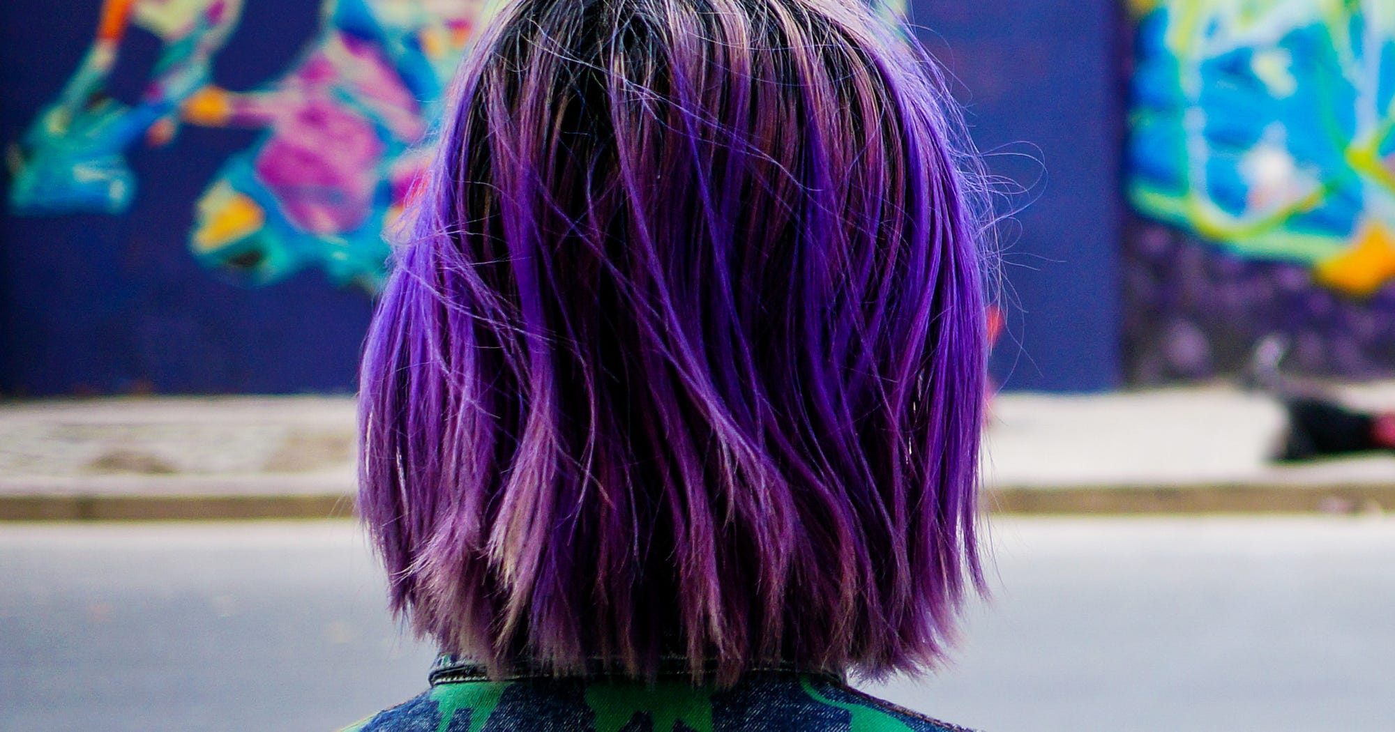 Purple Hair Color Ideas Pastel Ombre Silver Shades