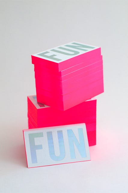 Cool los angeles business cards colourmoves