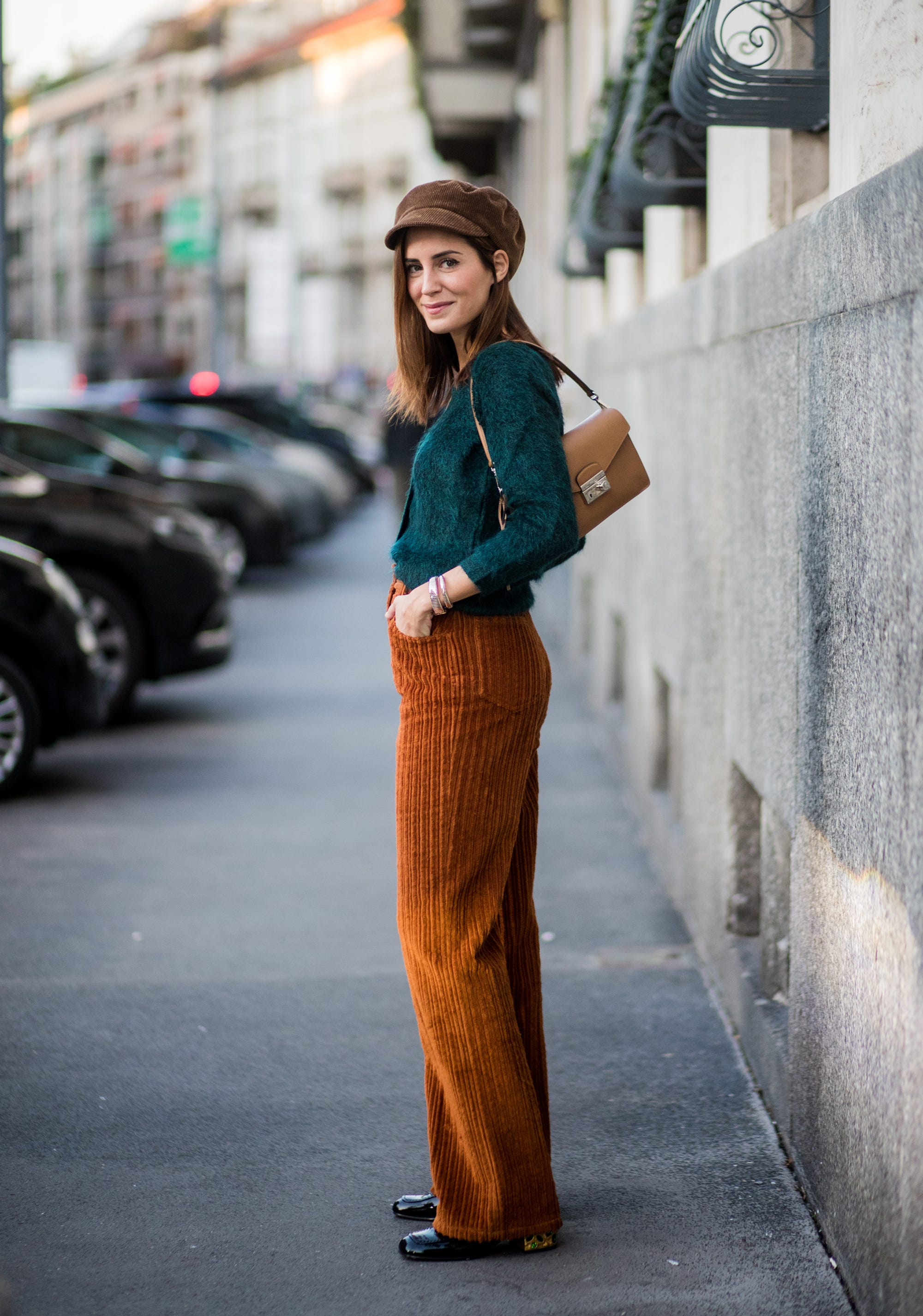 d099ea2e9afe7 How To Wear Corduroy Trend Fall 2017
