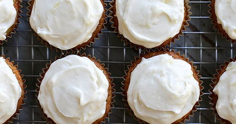 These Carrot Cake Cupcakes Might Be The Key To Happiness
