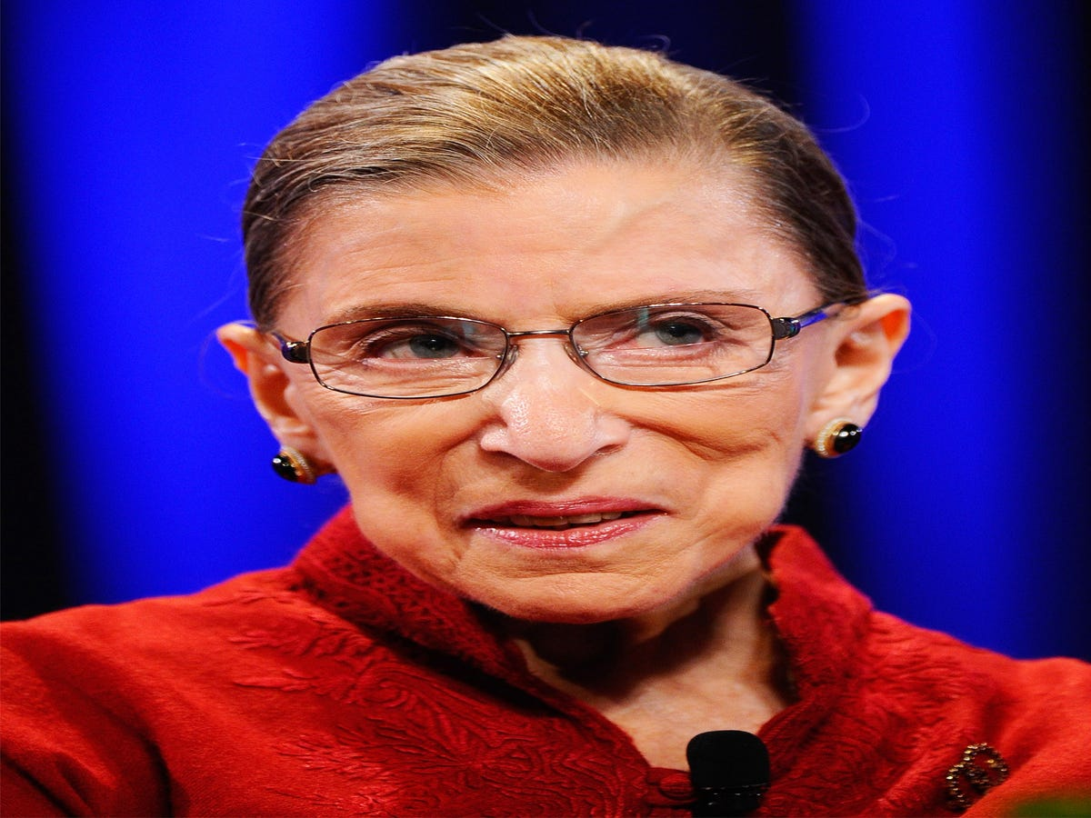 Still In Recovery, Ruth Bader Ginsburg Misses Oral Arguments For The First Time