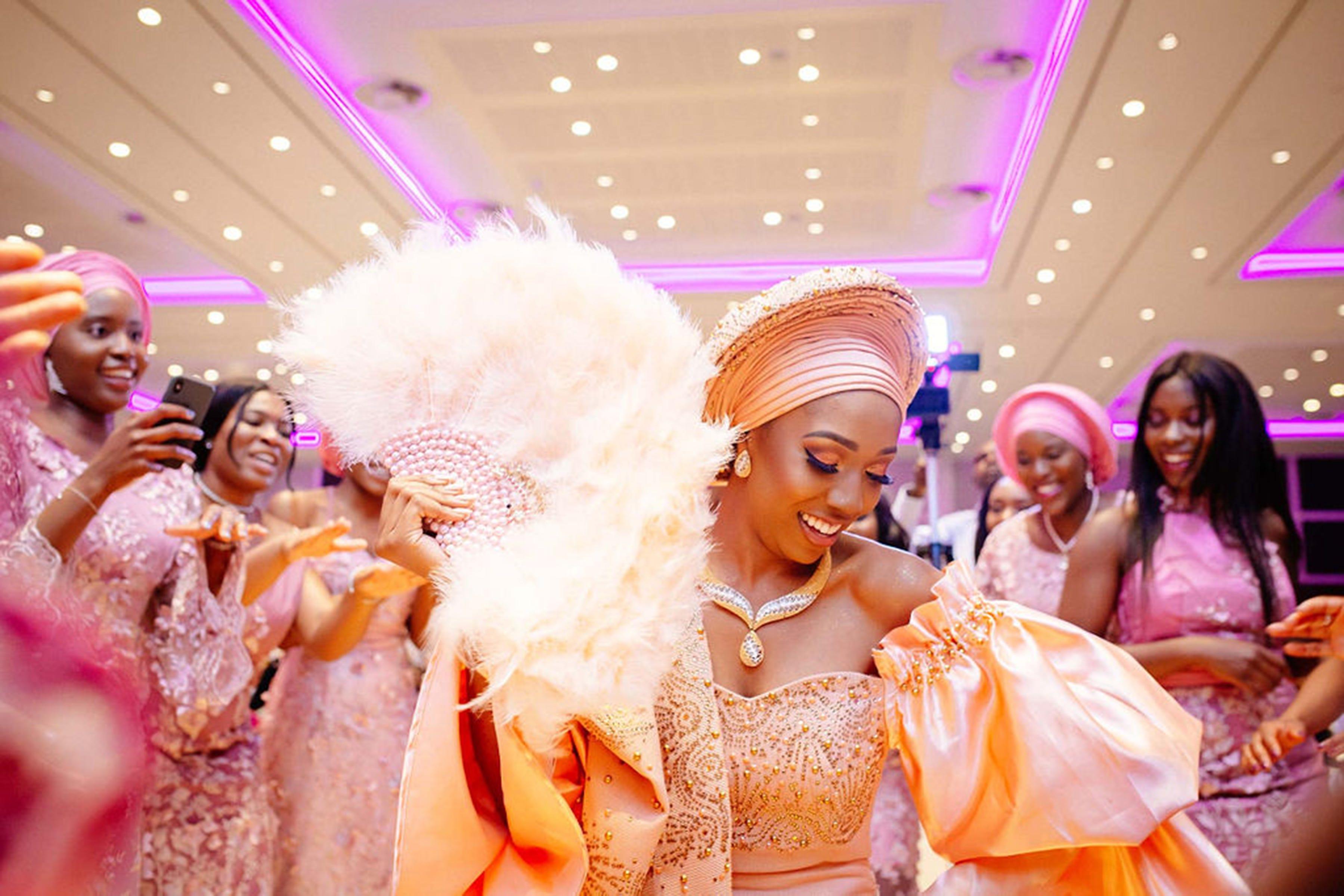 83ef7f28c2 A British Nigerian Couple Gets Married In Joyful Dance
