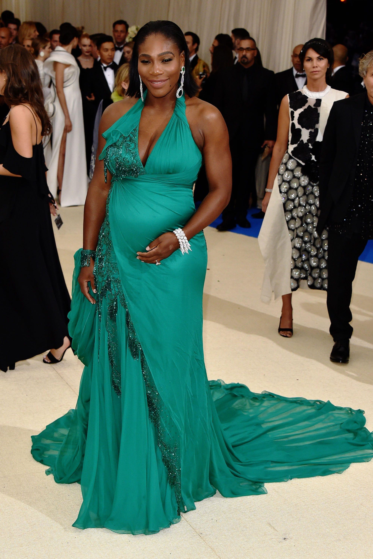 Serena Williams Pregnant Maternity Stylist Red Carpet