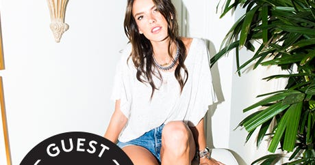 One Victoria's Secret Angel Lets Us See Her Breezy Closet