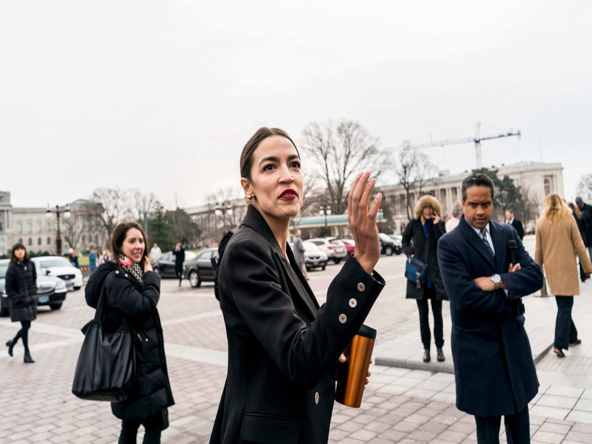 Alexandria Ocasio-Cortez Wore Berry Lipstick — & Now We Want To Wear It, Too