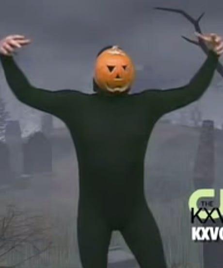Pumpkin Dance Hallowwn Viral Video