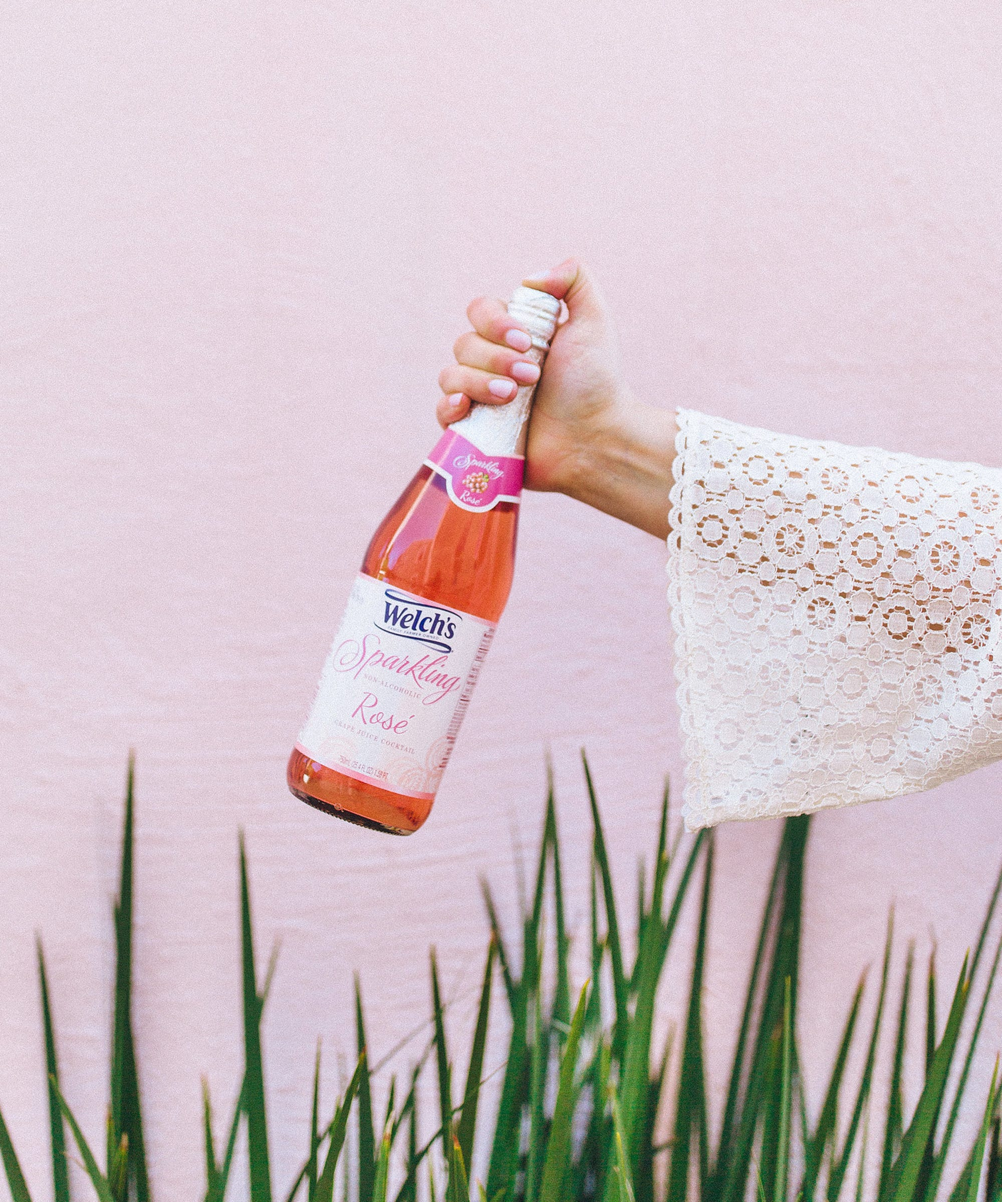 Welchs Released Non Alcoholic Rose Wine And We Tried It