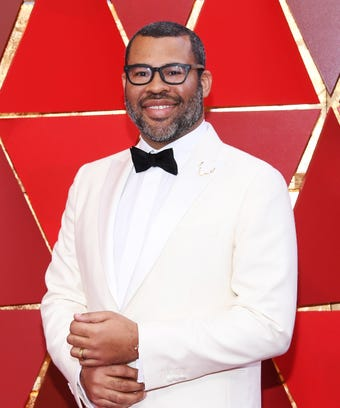 Jordan peele on the oscars red carpet