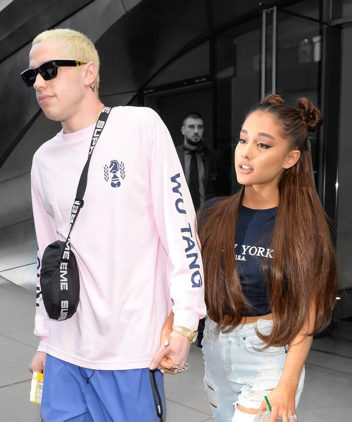 Pete Davidson Ariana Grande Wedding Date Updates