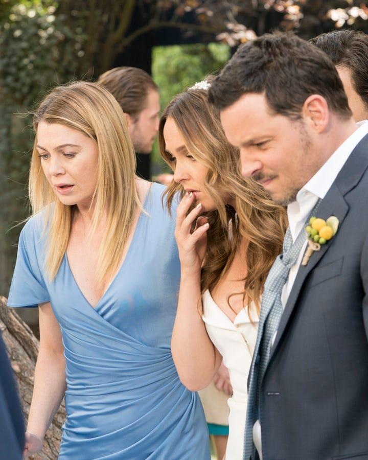 Greys Anatomy Season 14 Episode 24 Recap Finale Wedding