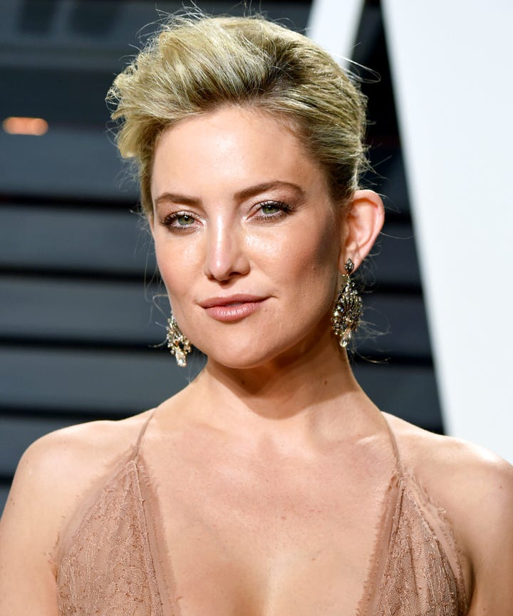 Kate Hudson Hair Plans Ellen Video Buzz Cut Mullet