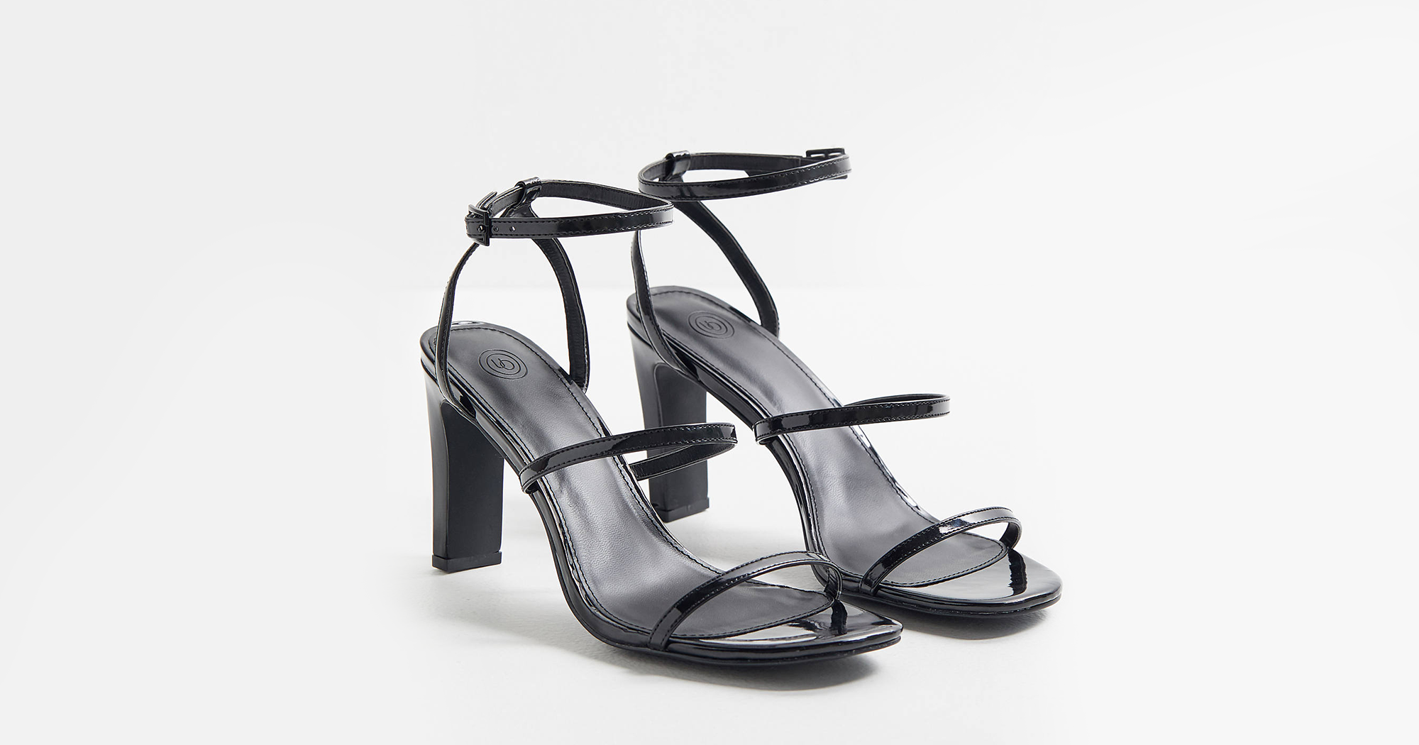 a1415c0f40fd3 Black Strappy Sandals To Buy In 2019 All Heel Heights