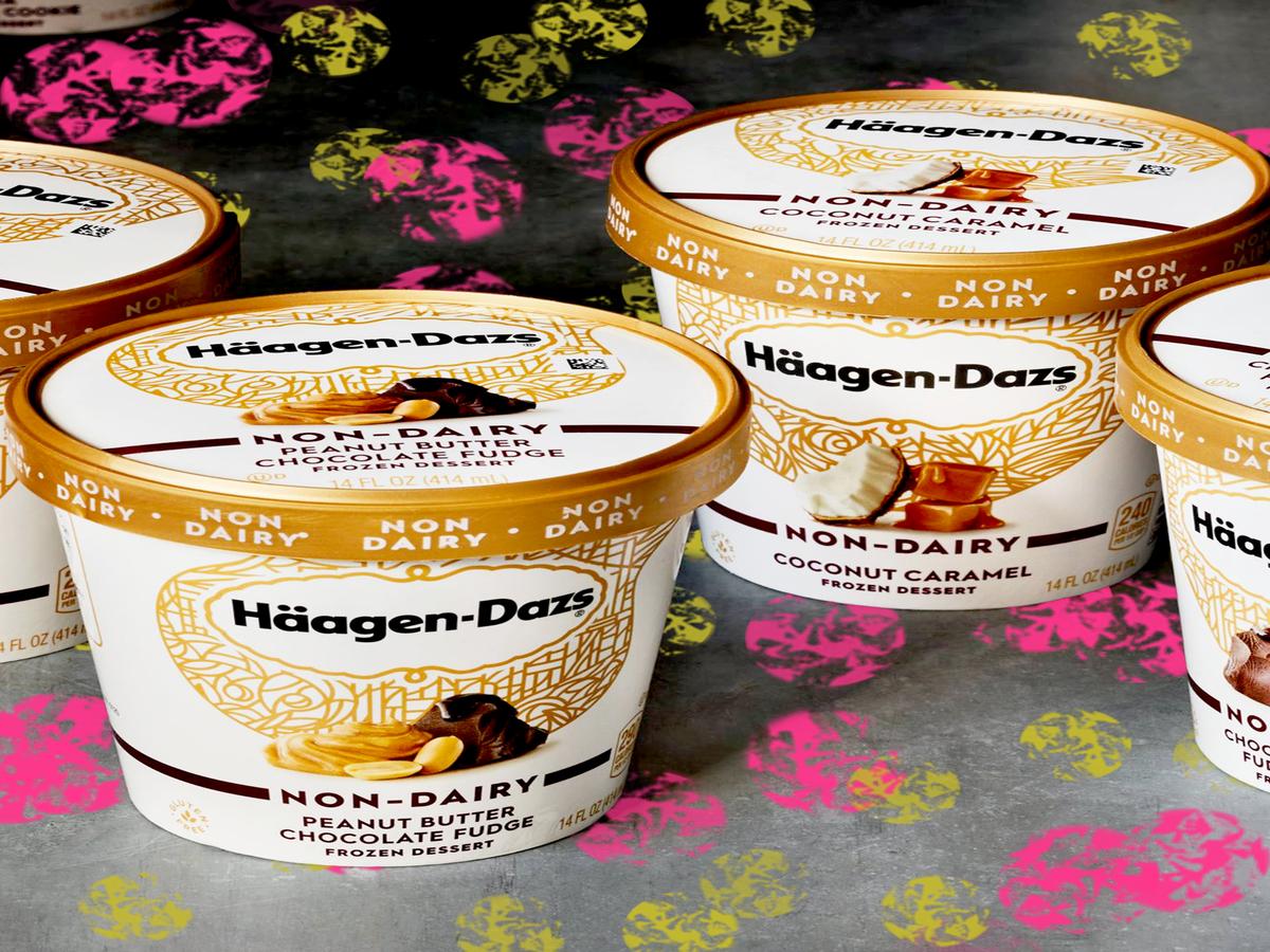 Häagen-Dazs Just Released 4 New Non-Dairy Flavors