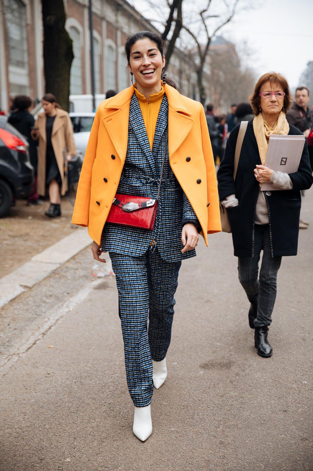 7338845ac099b Milan Fashion Week Street Style Fall 2017 Photos