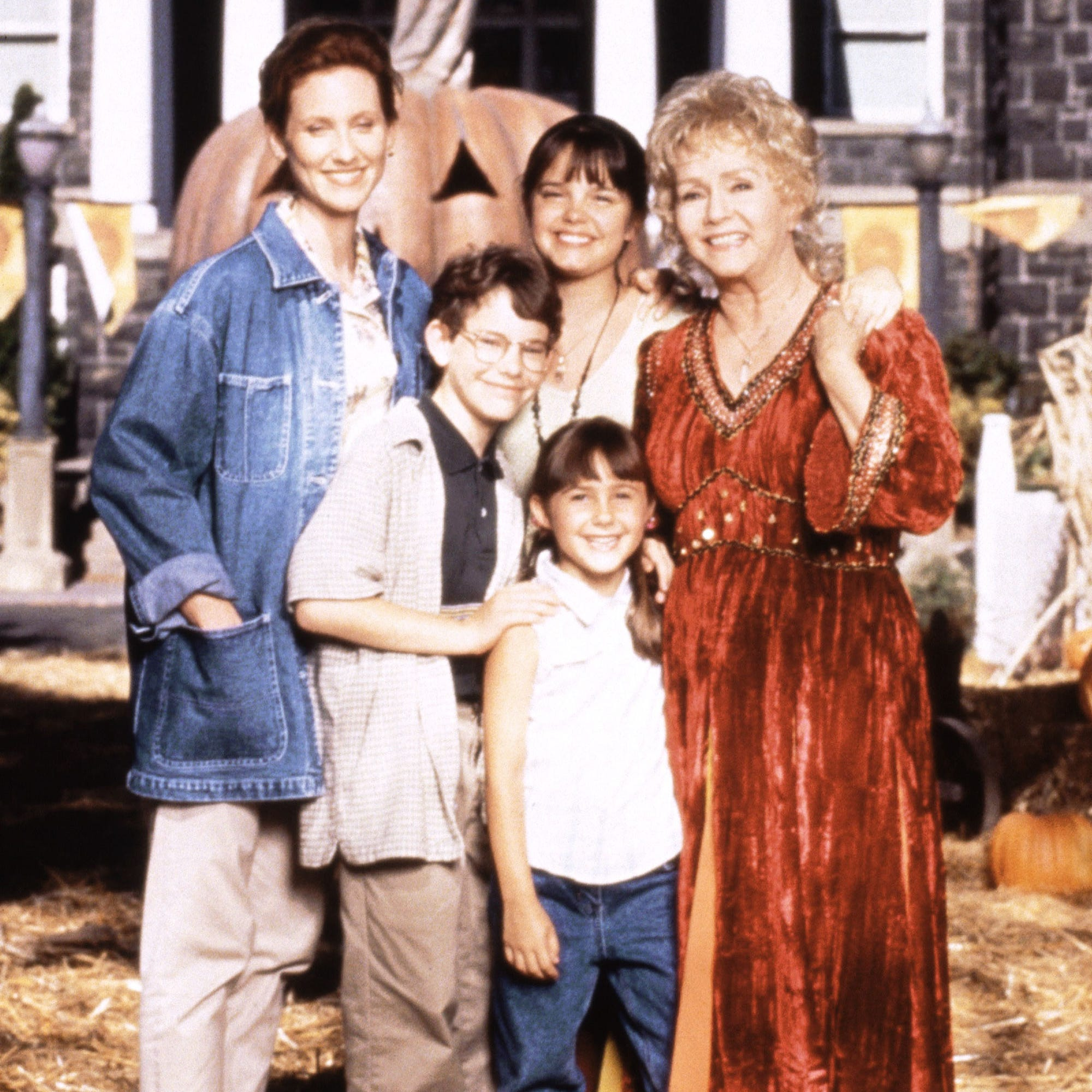 halloweentown cast, movie history with kimberly j brown