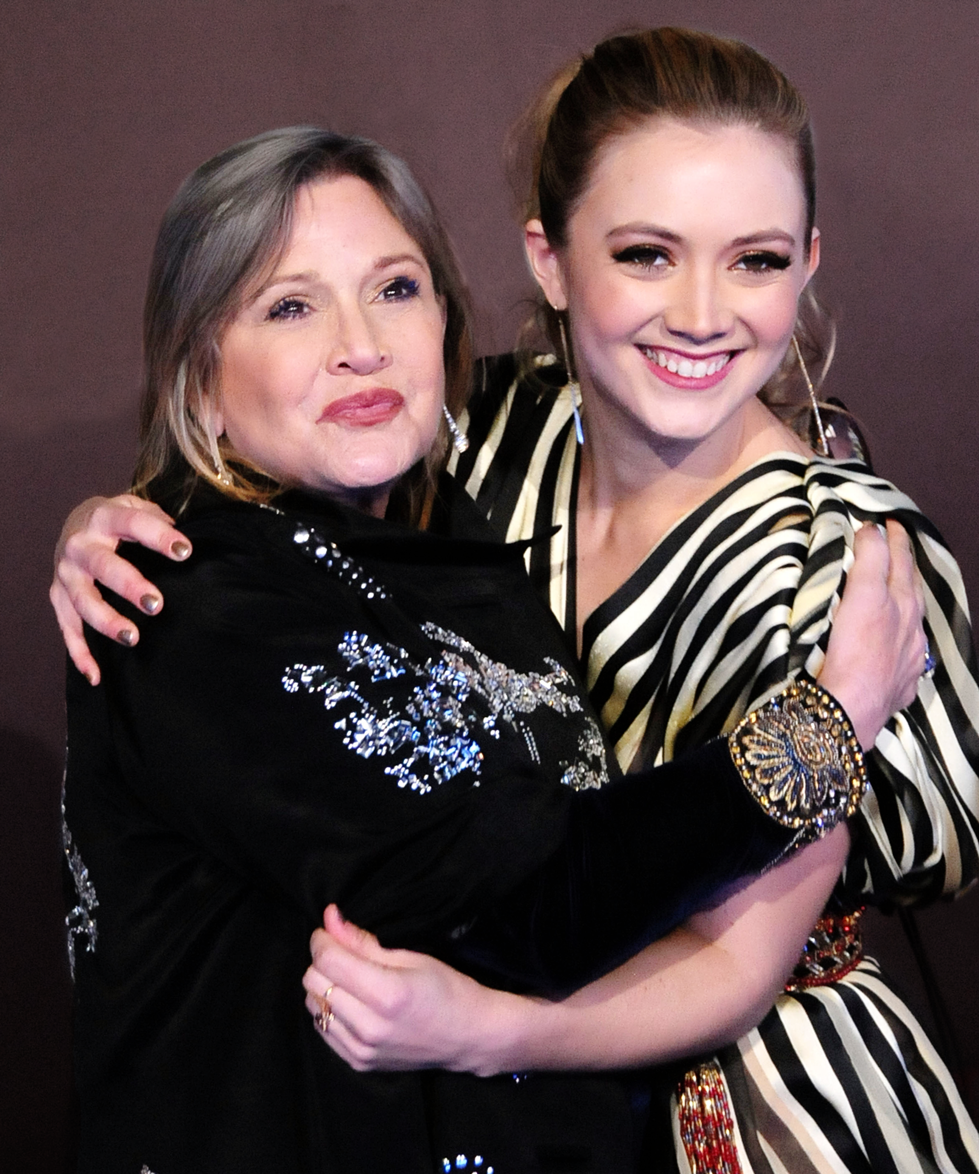 Billie Lourd Hopes Her Mom Carrie Fisher's Cause Of Death Will Inspire Others To Get Help