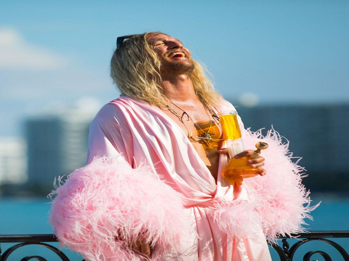 Purple Shampoo & Salt Spray: How Matthew McConaughey Became A Beach Bum