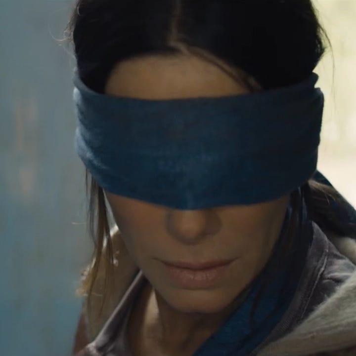 Bird Box Movie Cast Features A Terrified Sandra Bullock