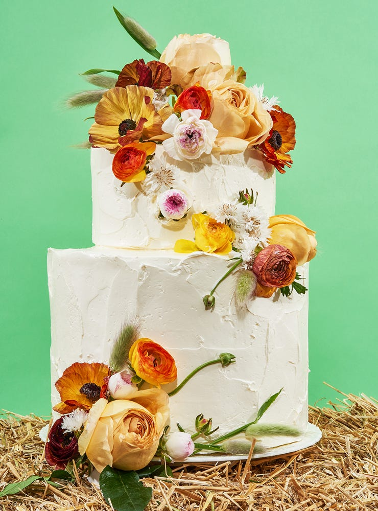 How To Decorate Wedding Cakes