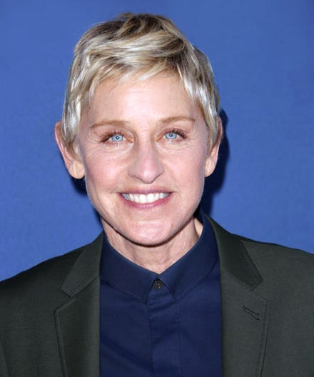 Ellen Degeneres 2014 Haircut