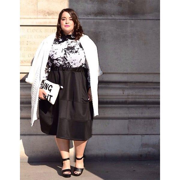 f9a4ac6fb9d Plus-Size Holiday Fashion On Instagram
