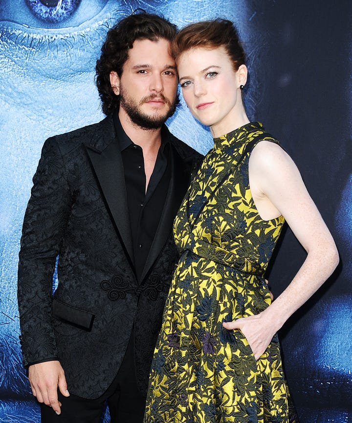 Kit Harington And Rose Leslie Got Royal Wedding