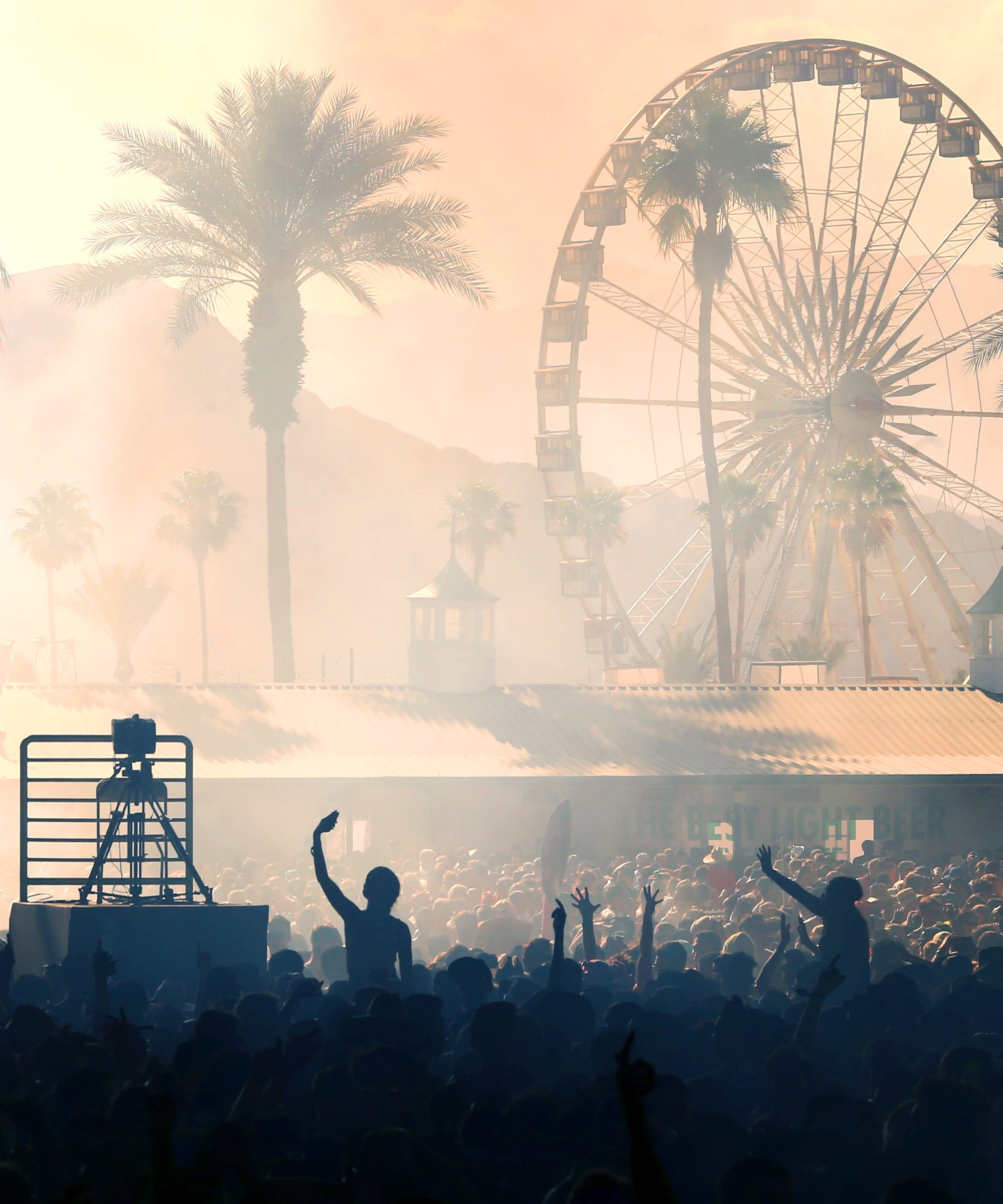"""Coachella Turns Into """"Fire Fest"""" After Camp Lights Up, But Don't Worry — Everyone Is Fine"""