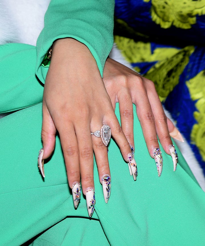 Cardi B Wants Her Long Nails Back Post Baby