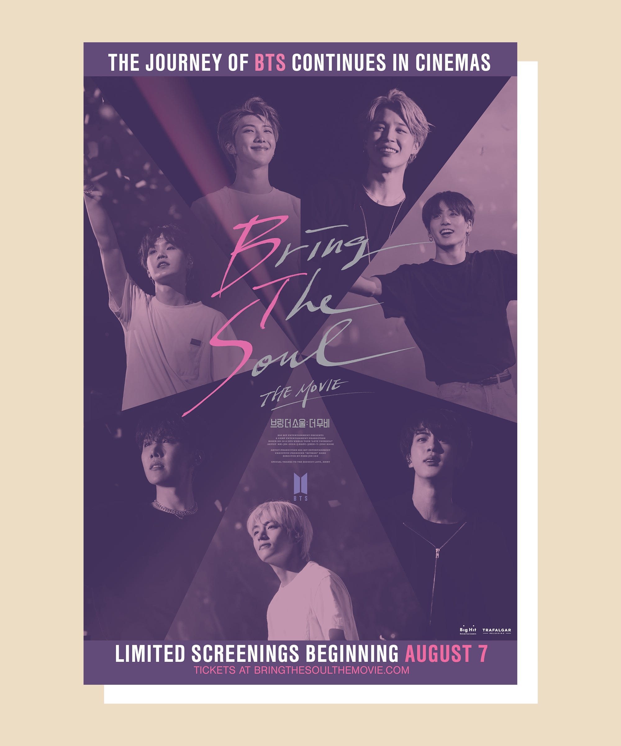 New To You >> Bts Bring The Soul The Movie Release Date Stills