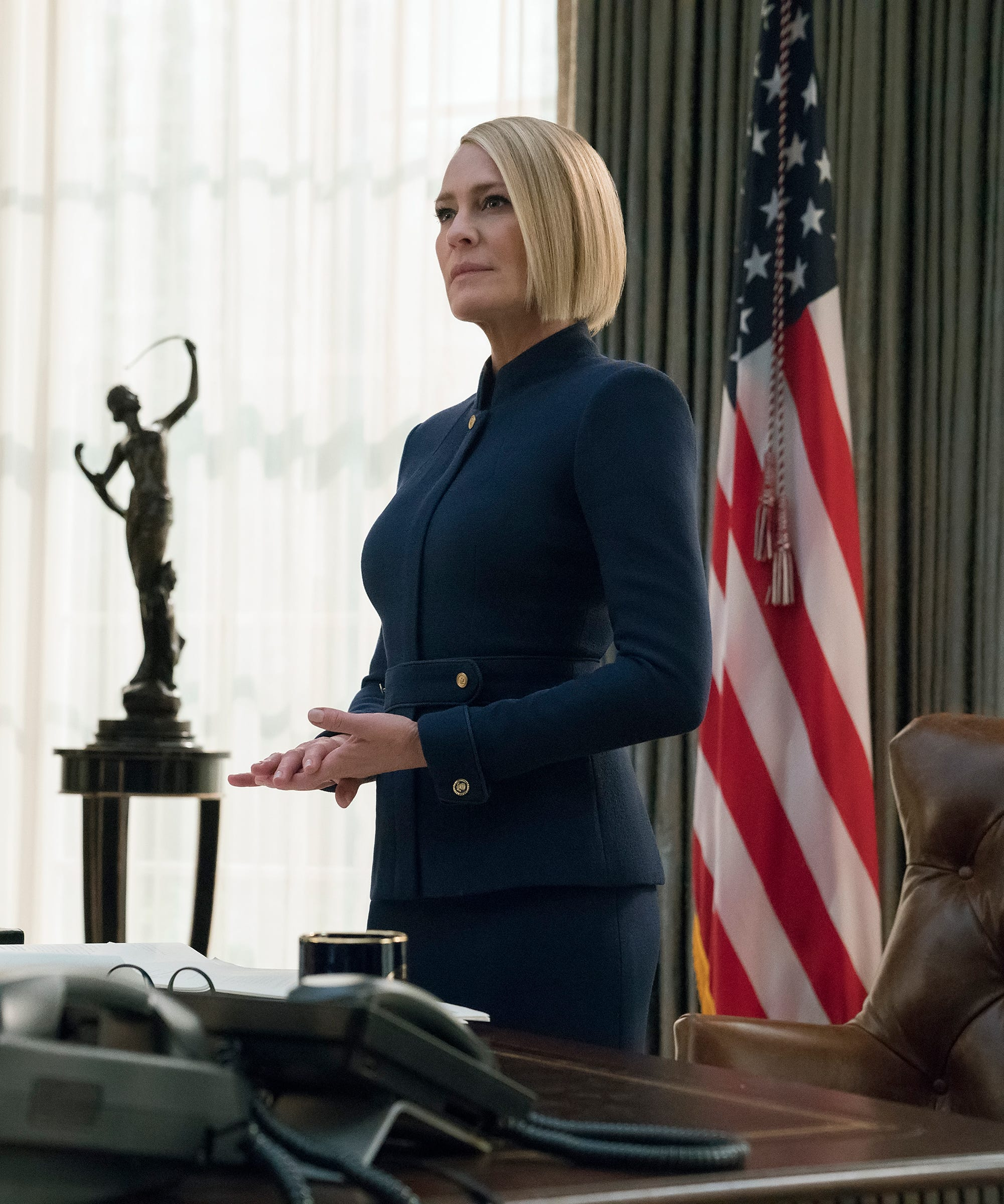 House Of Cards Cast Guide Season 6 New Characters