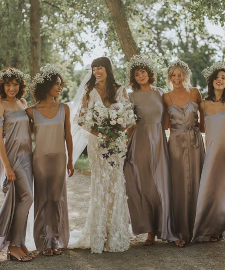 best bridal party ideas bridesmaid dress pictures
