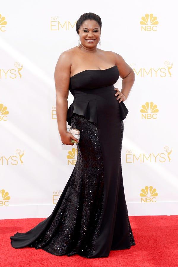 Best Emmy Plus Size Looks Red Carpet Fashion