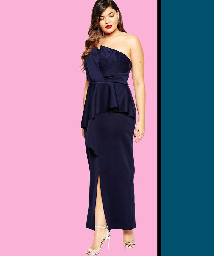 Plus Size Formal Dresses Curvy Women Evening Dresses