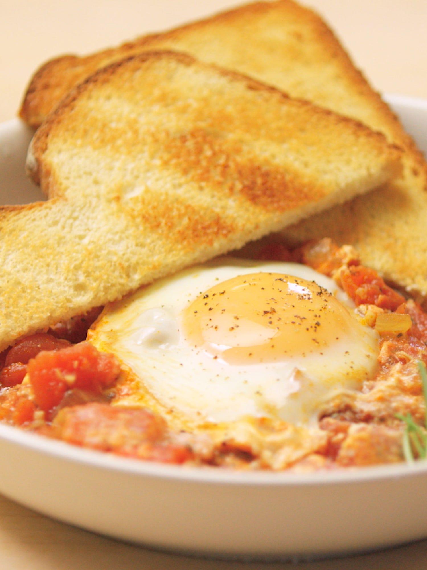Shakshuka recipe video easy breakfast recipe forumfinder Images