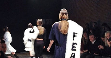 #Trending In Fashion: VFiles' Finale, BCBG's Faux-Fur Muff, & More!