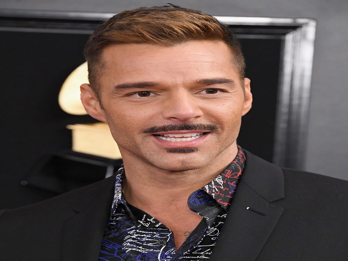 Twitter Has A Lot To Say About Ricky Martin s Grammys Mustache